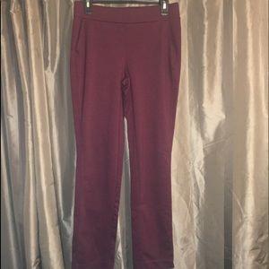 Maroon dress pants medium